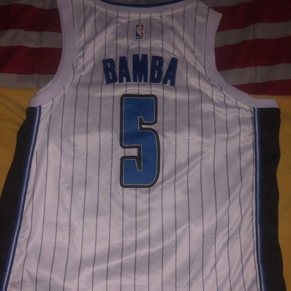 sneakers for cheap 5fd5f 8bae5 2019 Mo Bamba Orlando Magic Jersey